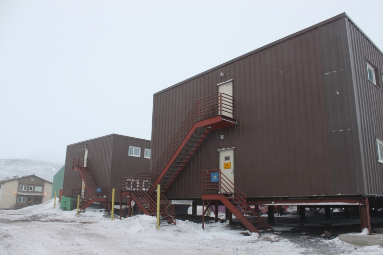 Building 211, McMurdo, Antarctica