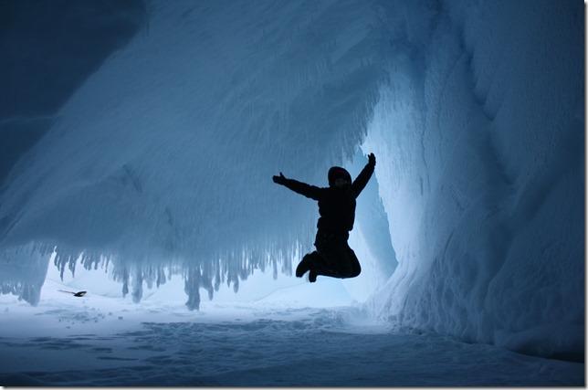 Ice Caves jump