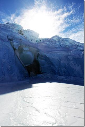 Sea Ice Big Blue Berg